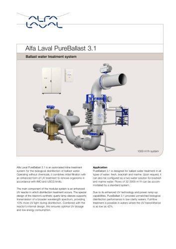 BAlfa Laval PureBallast 3.1