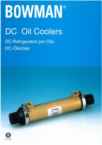 DC oil coolers