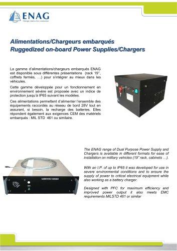 Battery charger – 24V-135A – Rack
