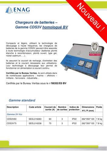Gamme CDS3 – 24V – BV