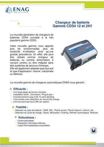Gamme CDS4 – 12/24V