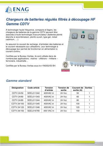 Gamme CDTV – 24V – Triphasé