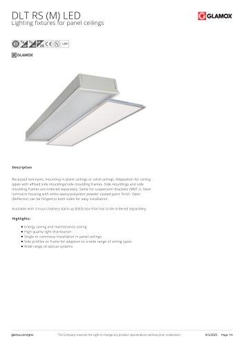 DLT RS (M) LED