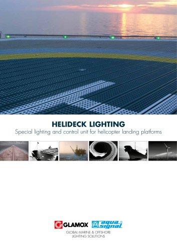 Helideck lighting