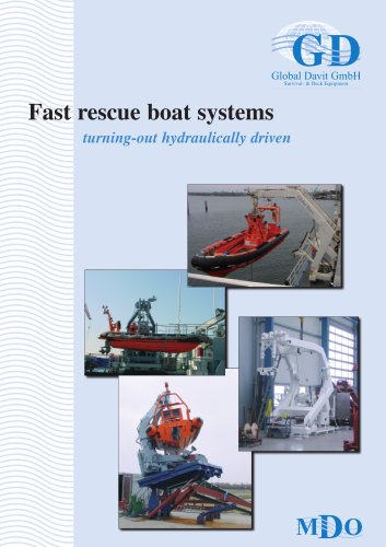 Fast rescue boat systems