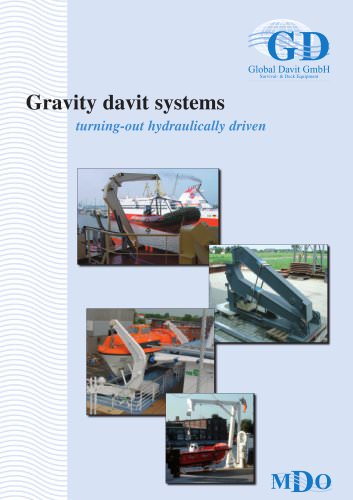 Gravity davit systems Fph Type