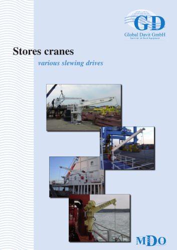 Stores cranes