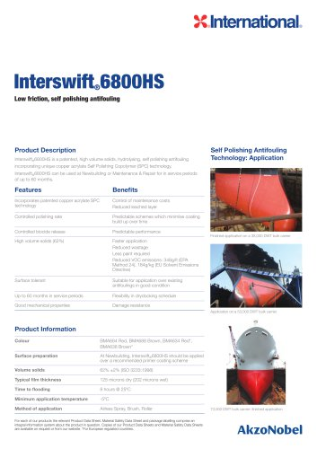Interswift 6800HS