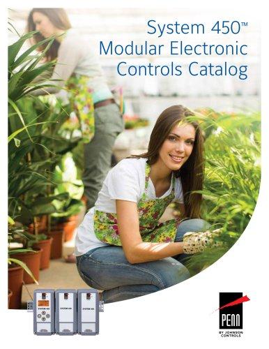System 450™ Modular Electronic Controls Catalog