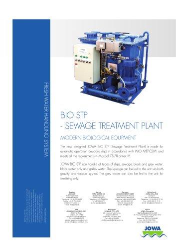 BIO STP - SEWAGE TREATMENT PLANT