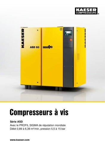 Compresseurs à vis Série ASD
