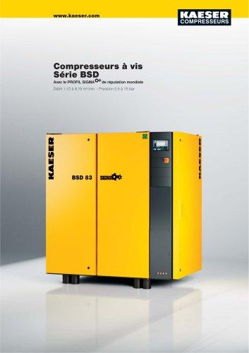 Compresseurs à vis Série BSD