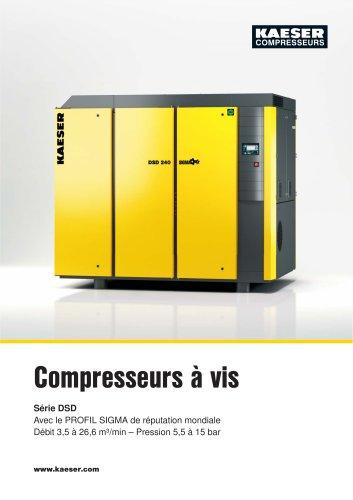 Compresseurs à vis Série DSD