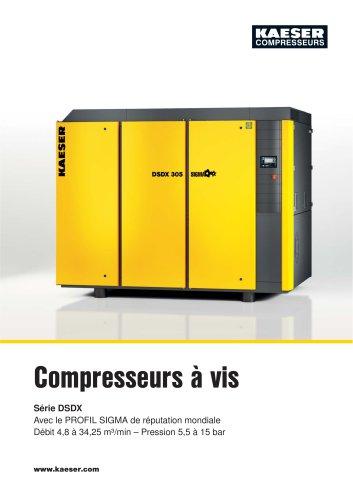 Compresseurs à vis Série DSDX