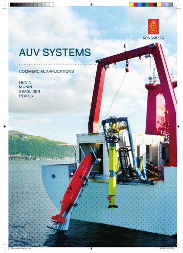 AUV systems for commercial applications