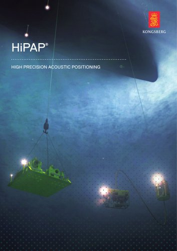 HiPAP® High Precision Acoustic Positioning