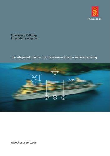 Kongsberg K-Bridge Integrated navigation