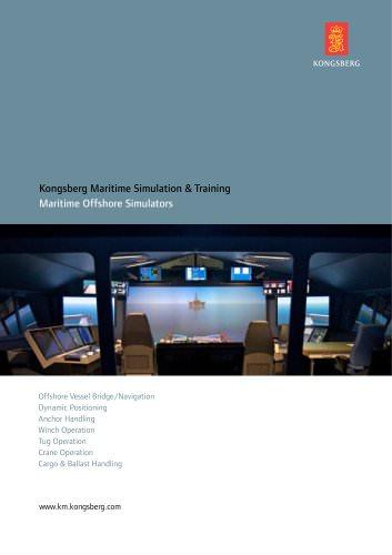 Kongsberg Maritime Simulation & Training
