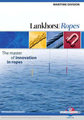 Lankhorst Ropes-Maritime Division catalogue