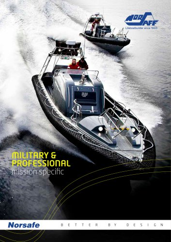 Norsafe MilPro Brochure