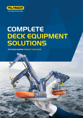 COMPLETE DECK EQUIPMENT SOLUTIONS 2017