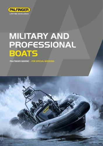 MILITARY AND PROFESSIONAL BOATS 2017