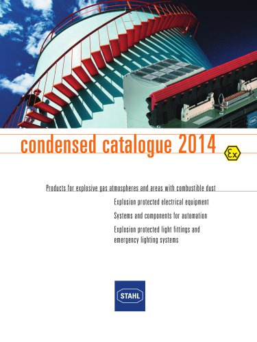 Condensed Catalogue 2014