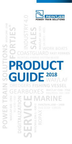 Product Guide 2018
