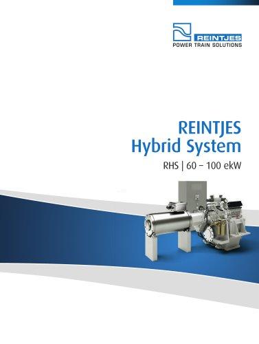REINTJES Hybrid System 60-100 ekW