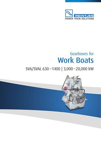 Work Boats SVA/SVAL 630 – 1400