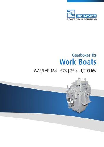 Work Boats WAF/LAF 164 - 573