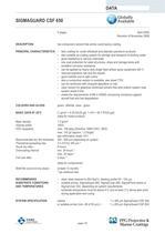 SIGMAGUARD CSF 650