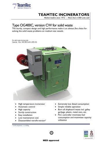 OG 400 CW