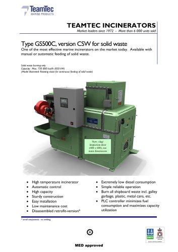 OG 500 CSW
