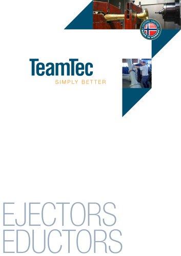 TEAMTEC EJECTORS/EDUCTORS