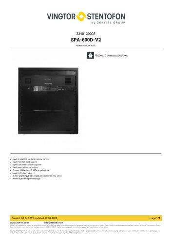 SPA-600D-V2