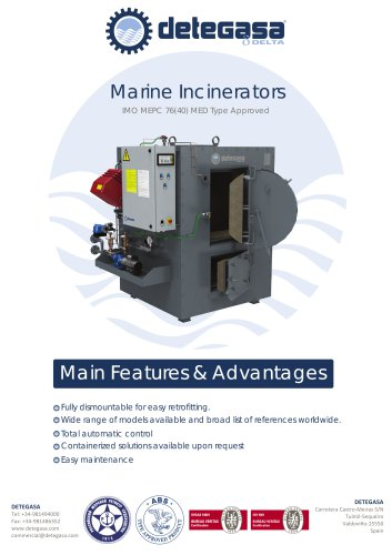 Marine Incinerators