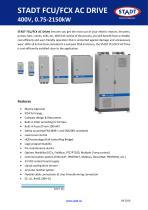 STADT FCU/FCX 400 V