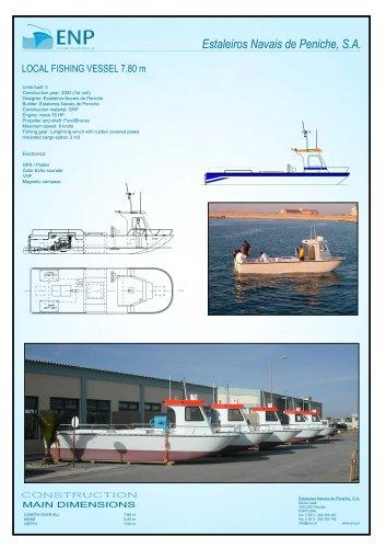 Catamaran 7 Technical Data