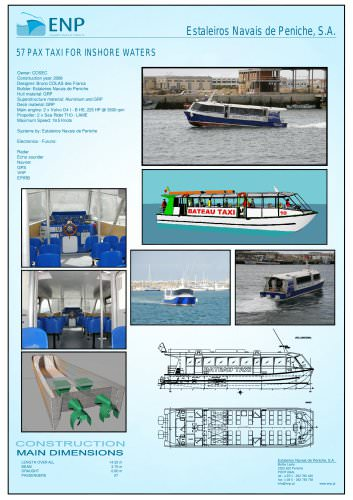 Water Taxi 14m