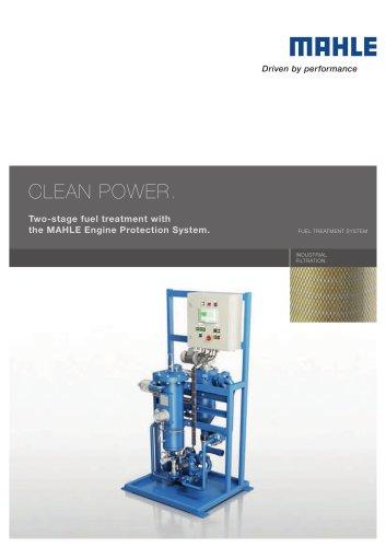Fuel treatment system EPS
