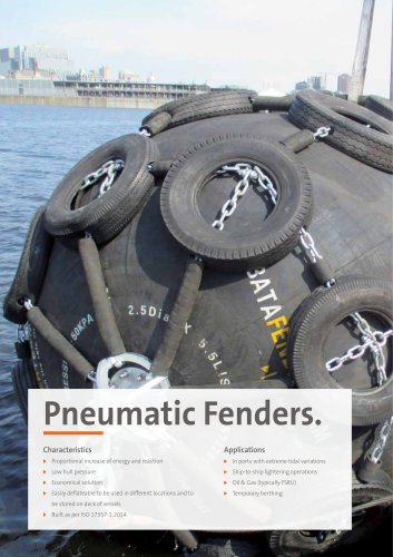 Pneumatic Fenders.