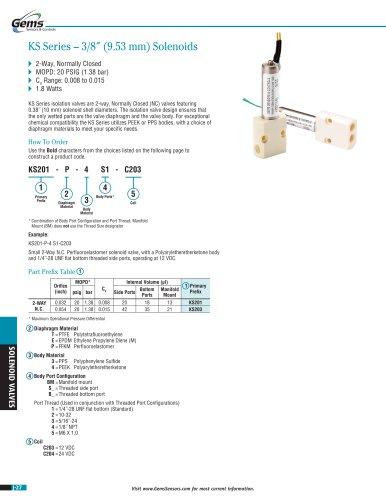 KS Series Isolation Solenoid Valve