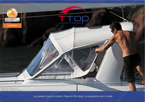 PRESENTATION T-TOP - STYLE IN BOAT
