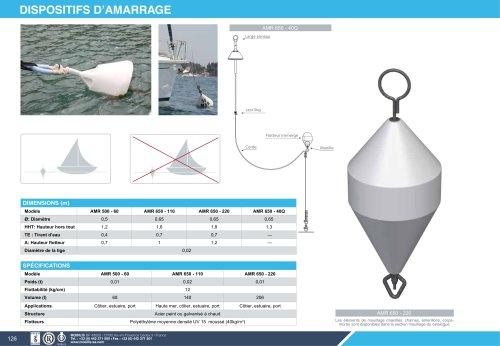 DISPOSITIF D'AMARRAGE : AMR 650, 500-60