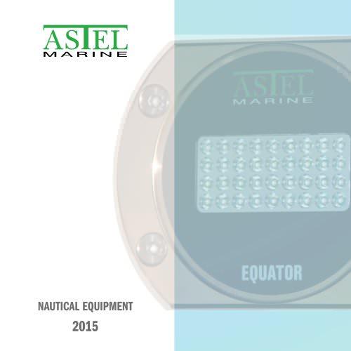 Nautical Equipment 2015 - ASTEL MARINE