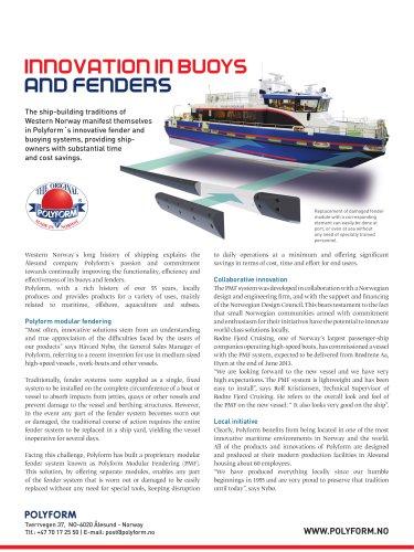 Polyform Modular Fendering System (PMF)