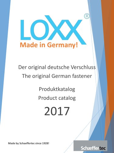 LOXX® - Automotiv / Industry Catalog 2017