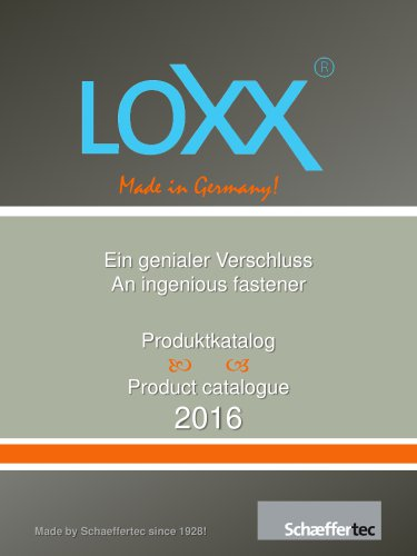 LOXX® - The Lifestyle Catalogue 2016