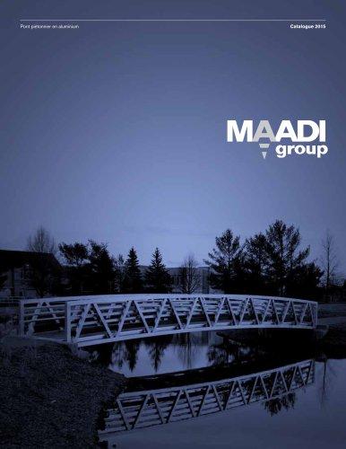 MAADI Group Pont piétonnier en aluminium